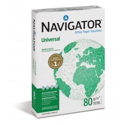 Carta A/4 per fotocopie, stampanti laser e inkjet Navigator conf.da 5 risme da 500 fogli